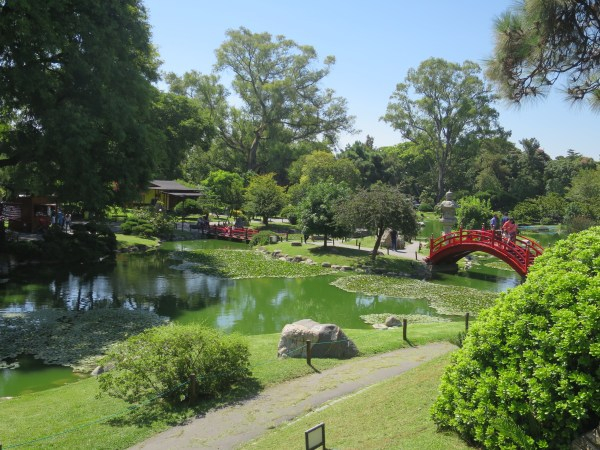 The Japanese Gardens, a beautiful spot to wander