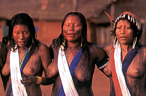 native african tribes nude