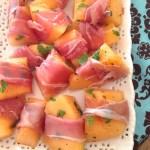 Prosciutto Wrapped Melon