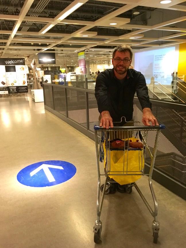 Ikea scavenger hunt