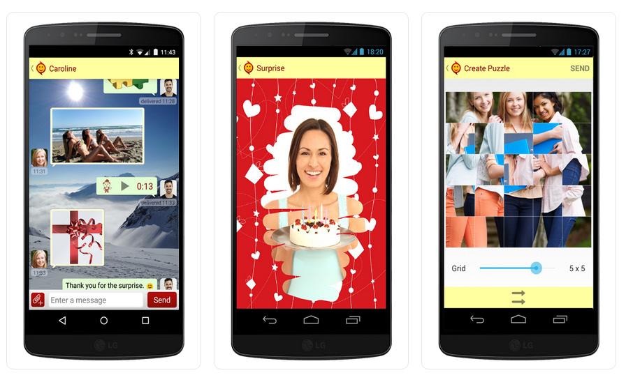 aJoy app screenshots