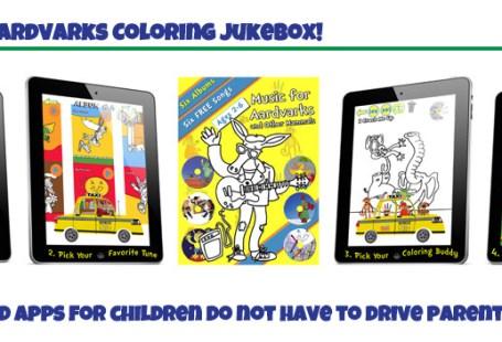 Music for Aardvarks Color Jukebox app