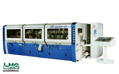 Maximac series – 4 Sided Moulder