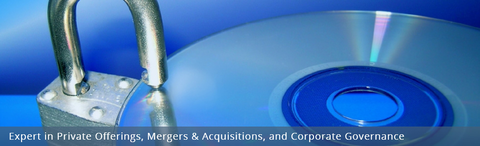 Expert in Private Offerings, Mergers & Acquisitions, and Corporate Governance