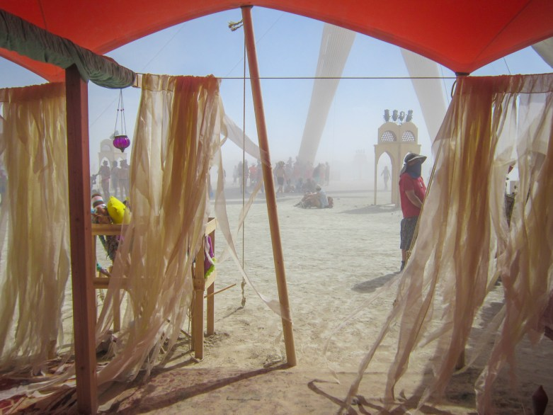 The Senses - Texas Souk - Burning Man 2014