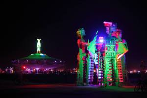 Temple of Times - Burning Man 2013