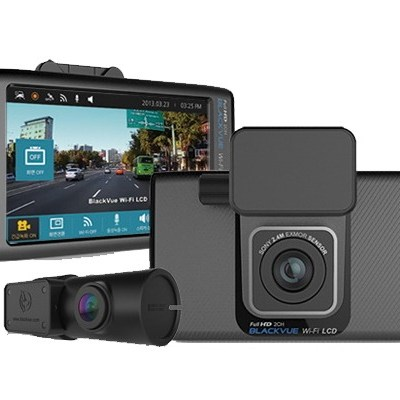 "BLACKVUE - DR750LW-NB 2 CHANNEL DASH CAM WITH 4"" TOUCH SCREEN 16GB (B-STK"