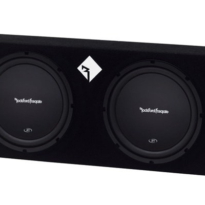 "ROCKFORD FOSGATE - R1-2X12 Dual Prime R1 12""  400 Watt Loaded Enclosure Oakville"