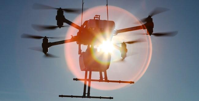 Lidar embarqué sur drone - scanner laser 3d