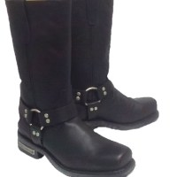 Rear zipper Harness Boot