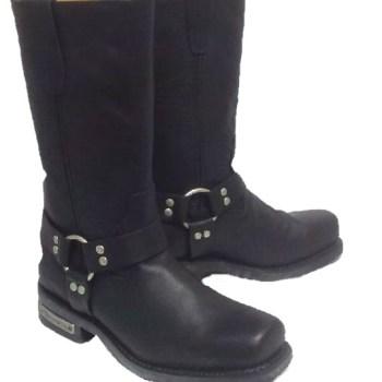 Rear zipper Harness Boot