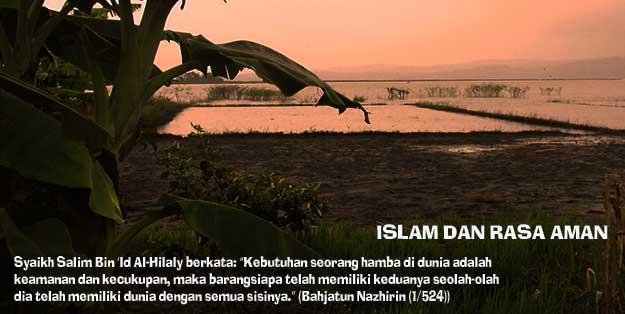 ISLAM DAN RASA AMAN