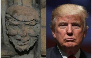 العثور على تمثال شبيه لـترامب عمره 700 عام