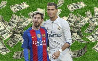 رونالدو يتخطى ميسي ليصبح الأكثر دخلاً في العالم بقيمة 87.5 مليون يورو