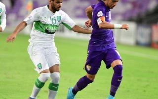 تعادل مثير بين العين الاماراتي والأهلي السعودي في دوري أبطال آسيا