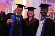 over 300 graduands adorned their caps and gowns in no8 northumberland