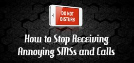 Register for DND and Stop Receiving Annoying SMS and Calls – [India]