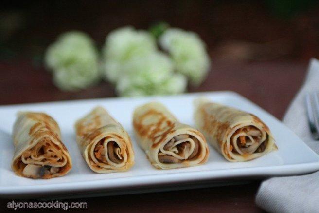 crepes-stuffed-crepes-blini-blinchki-cabbage-mushroom-stuffed-crepe-rollups-rolled crepes-nalesniki