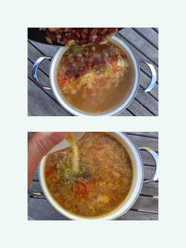 last soup step
