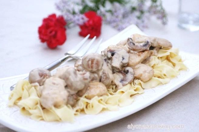 mushroom chicken sauce 3_Fotor