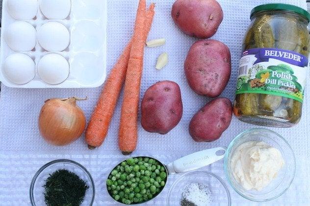 Olivye ingredients