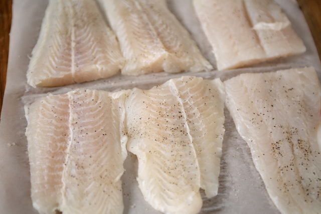swai cut and seasoned fillets