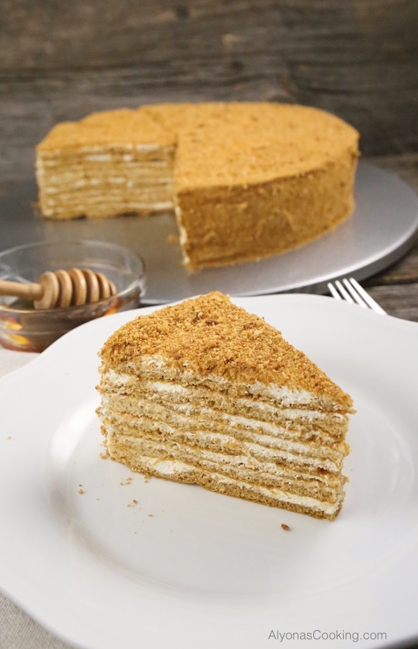 Honey Cake Recipe (Medovik) Russian-Store CopyCat