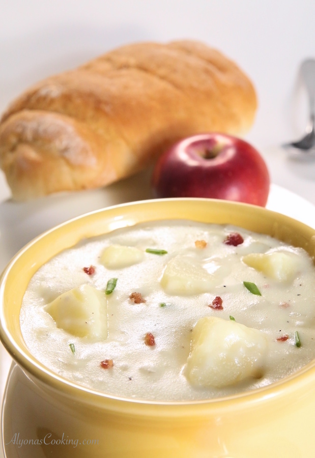 Baked Potato Soup - Panera Bread Copycat Recipe