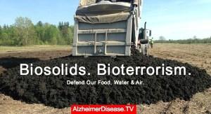 biosolids land application contaminates food water