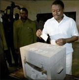Faure Gnassingbe vote