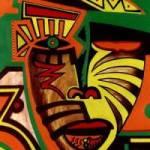 Série Máscaras Africanas de Ralph Sirianni