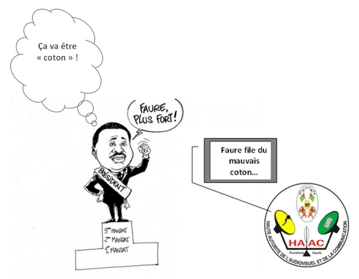 COTON : LE GOUVERNEMENT TOGOLAIS N'EST JAMAIS FAUTIF