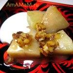 Десерт из несладкой (неспелой) дыни