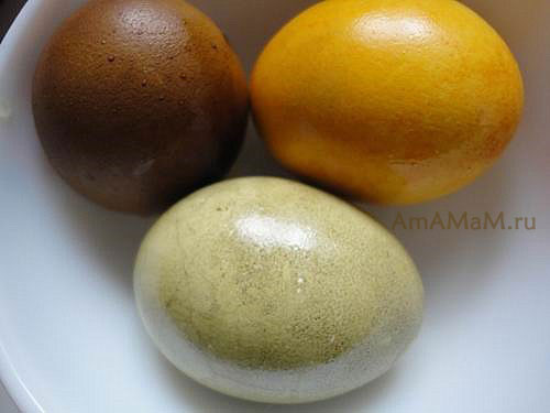 Красители для яиц: куркума, кофе и крапива