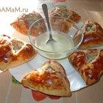 Ичпичмаки – татарские пирожки-треугольники с начинкой