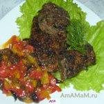 Ростбиф (жаркое из говядины на сковороде) с паприкой