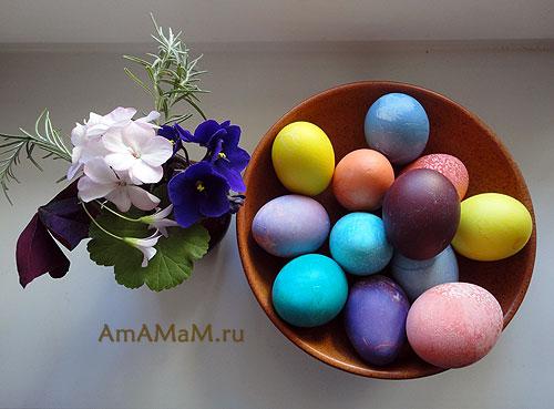Пасхальные картинки с яйцами - фото