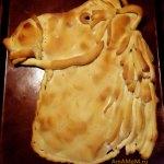 Пригоотвление новогодних блюд в виде символа года - Лошадь