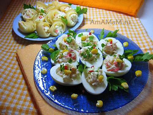 Как сделать фаршированные яйца или большие ракушки или улички (итальянские гигантские макароны)