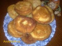 Очень вкусные жареные пирожки с яблочной начинкой!