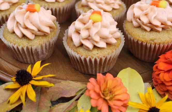 pumpkin spice cupcakes amandas plate
