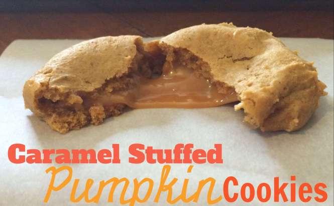 Caramel Pumpkin Cookies by Amandas Plate