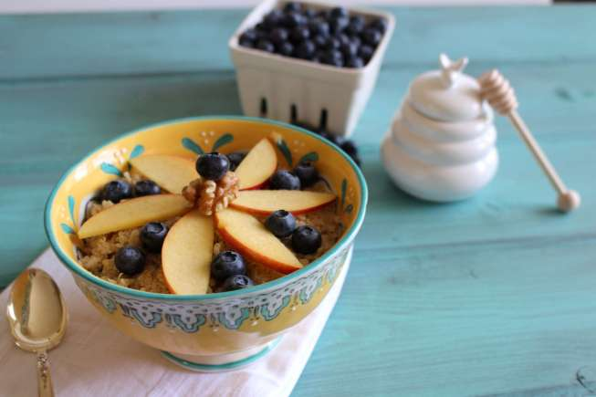 Quinoa breakfast bowl, breakfast bowl, breakfast quinoa, healthy ramadan breakfast
