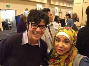 Kim Severson, Amanda Saab, International Food Bloggers Conference Key Note