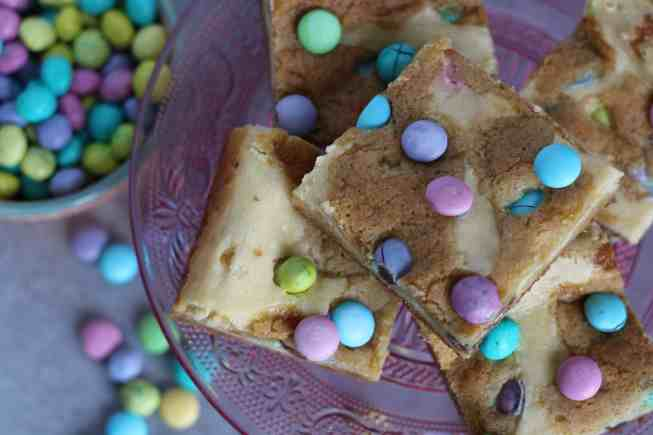 cookie and cheesecake bars