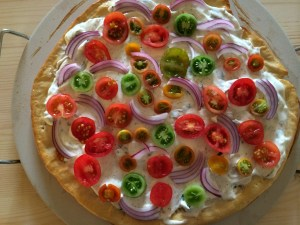 Summer Pizza by Amanda's Plate