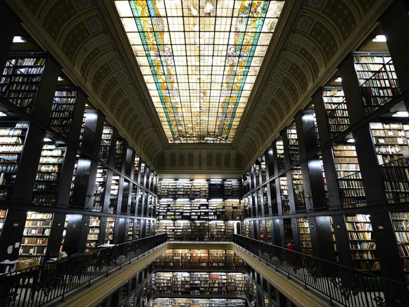 Interior da Biblioteca Nacional- Rio de Janeiro