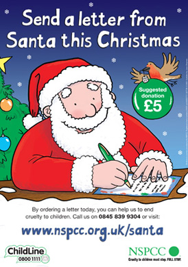 NSPCC-letter from santa
