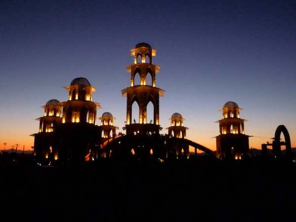 Temple of Transition - Black Rock City, Nevada - Photo
