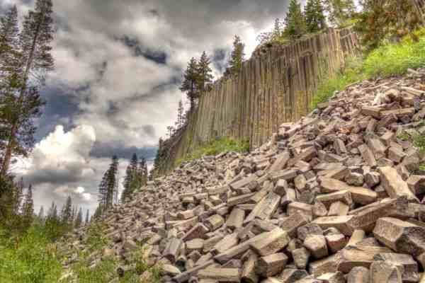 Devil's Postpile - Eastern Sierra - Photo